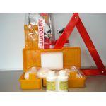 Авариен комплект КАТ - аптечка + пожарогасител + триъгълник + жилетка цена 35 лева продава  Ем Комплект Дружба 0884333265