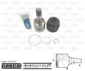 Каре полуос вътрешно Mazda 626 V 1998- цена 65 лева продава Ем Комплект Дружба 0884333265